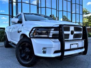 Used 2015 RAM 1500 Quad Cab Sport 4WD 5.7L V8 Leather Navi Cam LOW LOW KM's for sale in Brampton, ON