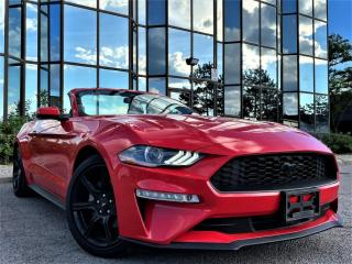 Used 2018 Ford Mustang ECOBOOST|CNVRTBL|ALLOYS|VENTED MEMORY SEATS|DIGITAL CLUSTER| for sale in Brampton, ON