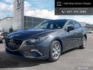 Used 2015 Mazda MAZDA3 GX for sale in Thunder Bay, ON