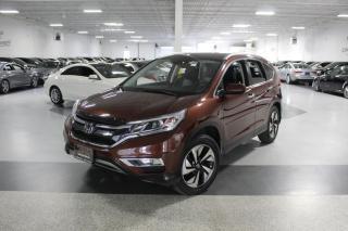Used 2015 Honda CR-V TOURING NO ACCIDENTS I NAVIGATION I LEATHER I SUNROOF I BT for sale in Mississauga, ON