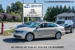Used 2012 Volkswagen Jetta Sedan 2.5L Auto Highline, Local, No Accidents, Leather, Sunroof for sale in Surrey, BC