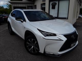 Used 2015 Lexus NX 200t F-SPORT 3 AWD - SALE PENDING for sale in Kitchener, ON