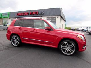 Used 2013 Mercedes-Benz GLK-Class GLK350 4MATIC AMG Pkg Camera Panoramic Sunroof for sale in Milton, ON