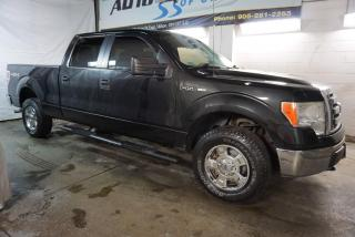 Used 2011 Ford F-150 V8 XLT 4X4 SUPER CREW CERTIFIED 2YR WARRANTY *FREE ACCIDENT* CRUISE ALLOYS for sale in Milton, ON