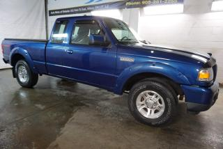 Used 2010 Ford Ranger V6 SPORT CERTIFIED 2YR WARRANTY *1 OWNER* AUX ALLOYS BED COVER TOW HITCH for sale in Milton, ON