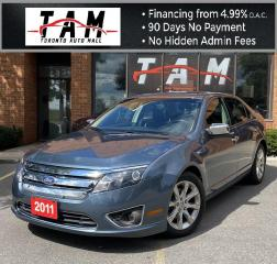 Used 2011 Ford Fusion SEL Sunroof Leather Heated Seats Low Km! for sale in North York, ON