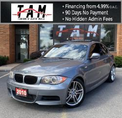 Used 2010 BMW 1 Series 135i M-Sport Sunroof Leather Heated Seats Clean Carfax No Accident for sale in North York, ON
