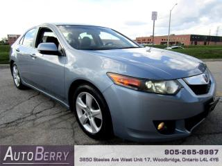 Used 2009 Acura TSX 5-Speed AT One Owner!!! for sale in Woodbridge, ON