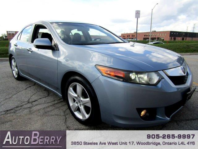 2009 Acura TSX 5-Speed AT One Owner!!!