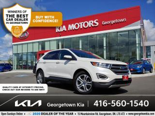 Used 2016 Ford Edge TITANIUM | CLN CRFX | PANO ROOF | NAV | HTD SEATS for sale in Georgetown, ON