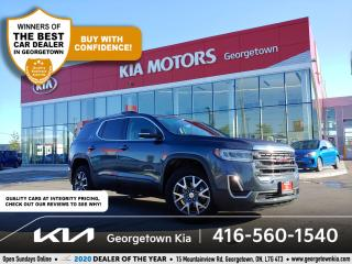 Used 2020 GMC Acadia SLE AWD| CLN CRFX| 7 PASS |BU CAM | HTD SEATS| 58K for sale in Georgetown, ON