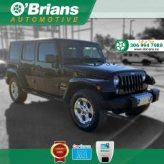 Used 2014 Jeep Wrangler Unlimited Sahara w/4WD Leather for sale in Saskatoon, SK