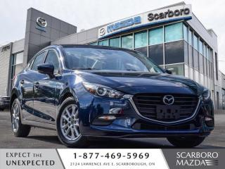 Used 2018 Mazda MAZDA3 GS 1 OWNER BLIND SPOT REAR CAMERA CLEAN CARFAX for sale in Scarborough, ON