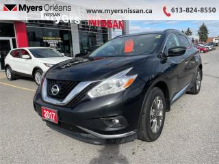Used 2017 Nissan Murano SV  - Sunroof -  Navigation - $165 B/W for sale in Orleans, ON