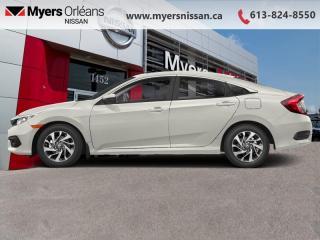 Used 2018 Honda Civic Sedan EX  - Sunroof -  Bluetooth - $134 B/W for sale in Orleans, ON
