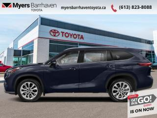 New 2021 Toyota Highlander Platinum  - Head-Up Display - $353 B/W for sale in Ottawa, ON