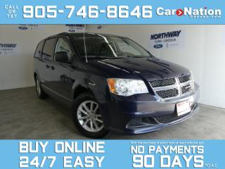 Used 2013 Dodge Grand Caravan SXT PLUS |STOW N GO |REAR A/C |ALLOYS | POWER SEAT for sale in Brantford, ON