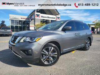 Used 2017 Nissan Pathfinder Platinum  - Sunroof -  Navigation - $247 B/W for sale in Ottawa, ON