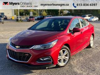 Used 2018 Chevrolet Cruze LT  - Heated Seats -  LED Lights for sale in Orleans, ON