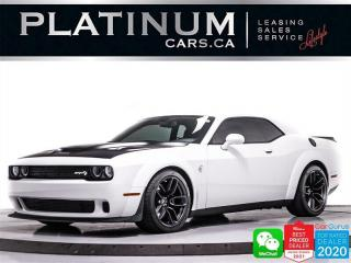 Used 2018 Dodge Challenger SRT Hellcat Widebody, 717HP, MANUAL, SUPERCHARGED for sale in Toronto, ON