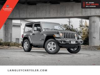 New 2021 Jeep Wrangler Sport S for sale in Surrey, BC