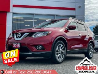 Used 2015 Nissan Rogue SL  - Sunroof -  Leather Seats for sale in Campbell River, BC