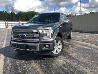 Used 2017 Ford F-150 Platinum Crew 4WD for sale in Cayuga, ON