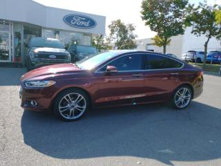 Used 2016 Ford Fusion Titanium for sale in Mississauga, ON