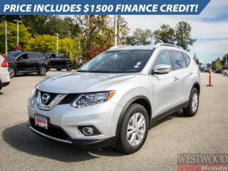Used 2016 Nissan Rogue SV 4WD for sale in Port Moody, BC
