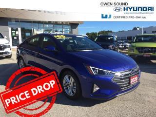 Used 2020 Hyundai Elantra Preferred- Like new !! for sale in Owen Sound, ON