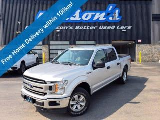 Used 2019 Ford F-150 XLT SuperCrew 4WD, Reverse Camera, Automatic High Beam, Automatic Emergency & More! for sale in Guelph, ON