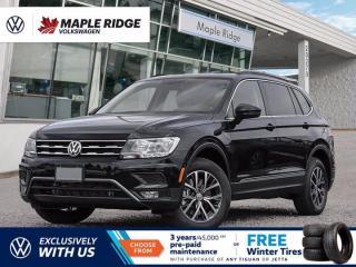 New 2021 Volkswagen Tiguan COMFORTLINE 2.0L TSI 4MOTION for sale in Maple Ridge, BC