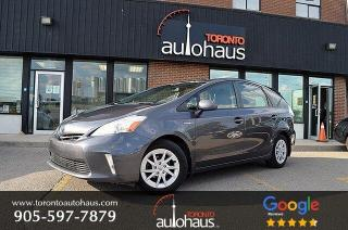 Used 2014 Toyota Prius V LEATHER I NAVIGATION I NO ACCIDENTS for sale in Concord, ON