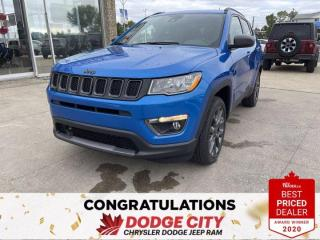 New 2021 Jeep Compass 80th Anniversary, 4WD,Htd.Seats/Wheel, Remote Start for sale in Saskatoon, SK