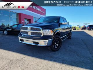 Used 2018 RAM 1500 Outdoorsman BACKUP CAMERA, HEATED SEATS/STEERING WHEEL, NAVIGATION for sale in Calgary, AB