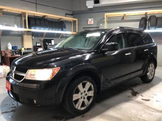 Used 2010 Dodge Journey RT AWD *  Leather Heated Seats * Sunroof * Remote Start * Infinity Audio System * Hands Free Calling *  3.5L V6 * 6-Speed Automatic * Dual Climate Con for sale in Cambridge, ON