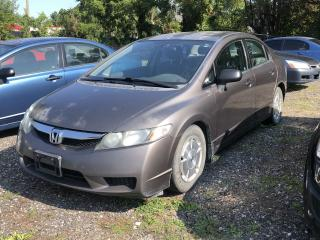 Used 2009 Honda Civic DX-G for sale in Cambridge, ON