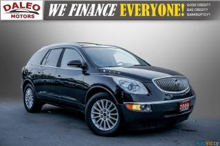 Used 2009 Buick Enclave CXL / 7 PASSENGERS / DVD / NAVI / LEATHER / LOADED for sale in Hamilton, ON