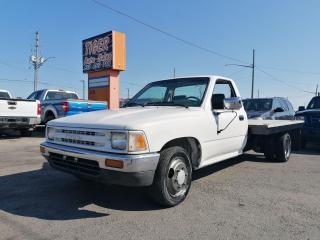 Used 1989 Toyota Tacoma DUALLY*FLAT DECK*ONLY 58,000 MILES*NEW TIRES*CLEAN for sale in London, ON