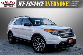 Used 2015 Ford Explorer XLT / 7 PASSENGERS / NAVI / PANOROOF / LOADED for sale in Hamilton, ON