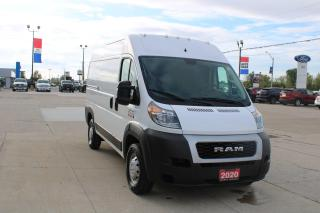 Used 2020 RAM Cargo Van 1500 HIGH ROOF for sale in Tilbury, ON