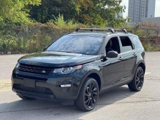 Used 2016 Land Rover Discovery Sport HSE LUXURY NAVIGATION/CAMERA/BLIND SPOT for sale in North York, ON