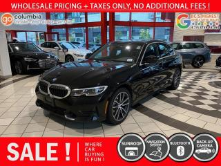 Used 2019 BMW 3 Series 330i xDrive - Nav / Leather / Sunroof / No Dealer Fees for sale in Richmond, BC