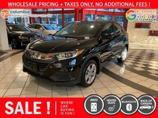 Used 2019 Honda HR-V LX AWD - Local / Heated Seats / No Dealer Fees for sale in Richmond, BC
