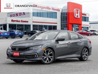 Used 2020 Honda Civic Touring NAVI|LEATHER|B.CAM|SUNROOF for sale in Orangeville, ON