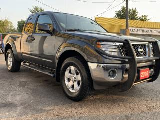 Used 2010 Nissan Frontier SE/4WD/6SP/4PASS/EXTENDED CAP/LOADED/ALLOYS for sale in Scarborough, ON