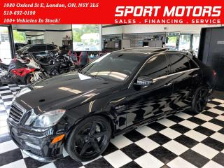 Used 2011 Mercedes-Benz E-Class E 63 AMG V8+Xenons+Dymamic & Cooled Seats+Camera for sale in London, ON