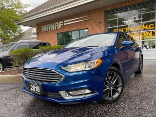Used 2018 Ford Fusion SE Rear Cam Heated Seats Bluetooth Certified* for sale in Concord, ON