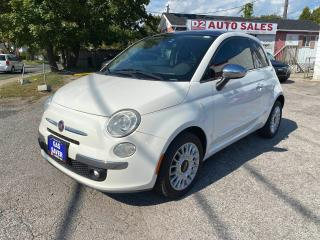 Used 2012 Fiat 500 Automatic/Leather/Bluetooth/Comes Certified for sale in Scarborough, ON