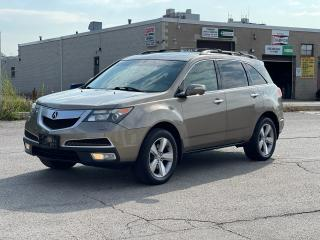 Used 2011 Acura MDX Tech Pkg Navigation/DVD/Sunroof/7Pass for sale in North York, ON